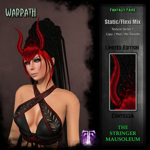 *TSM* Warpath - Series 7 - L.E. Contessa - 4 of 10 Left
