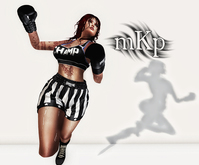 """Combat Pose: """"Flying Punch"""" by MKP"""