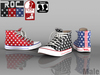 ::ROC:: Canvas Sneaker! High-Star (MALE)