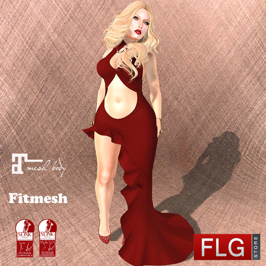 ::FLG Carmen Dress Long + HUD 30 Models ::