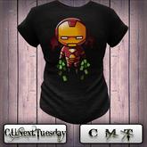 [C.U.Next.Tuesday] Ironman cute   Mens MESH CLASSIC Tee