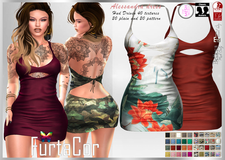 FurtaCor*Alessandra Dress