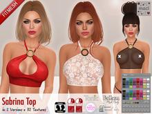 Maci ~ Sabrina Top with HUD (Maitreya, Slink, Belleza, TMP, Tonic, Classic Avatars)