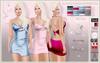 LSR - Sexy Mini Dress Siobhan Denim With Hud MB & Classic