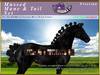 *E* Mussed Mane/Tail Set [BOXED] RH Friesian