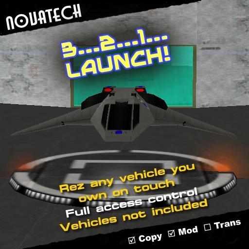 3-2-1 Launch! - Customizable Vehicle Rezzer