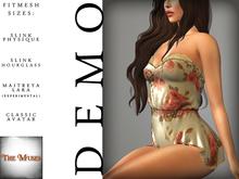 The Muses . Belle . Romper . DEMO ( Buy Now - August) Fitmesh - Belleza, Slink, Maitreya, Classic Sizes.
