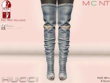 ::HH:: Hucci Illizi Boots - Faded