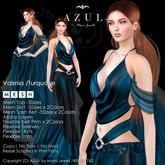 -AZUL- Valsnia /Turquoise (MV India/MVW2016)