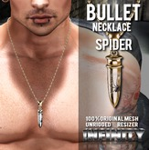 !NFINITY Bullet Necklace - Spider (wear to unpack)