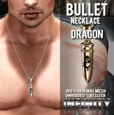!NFINITY Bullet Necklace - Dragon (wear to unpack)