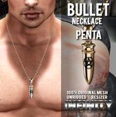 !NFINITY Bullet Necklace - Pentagram (wear to unpack)