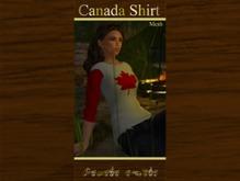 Canada MESH shirt for Women