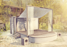 ionic : A Forest STAGE HOUSE + SPEAKERS