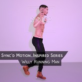 Sync'd Motion__Inspired Series  - Willy Running Man