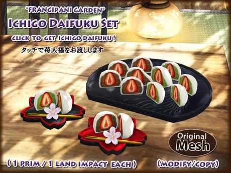 *FG* Ohanami Sweets Set {Ichigo Daifuku}