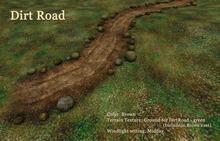 HPMD* Dirt Road - brown