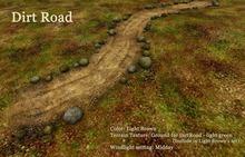 HPMD* Dirt Road - light brown
