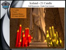 Icaland - 21 Candles *Promo*