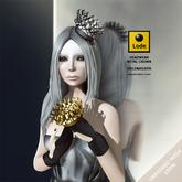 *LODE* Headwear - Metal Crown [silver&gold]