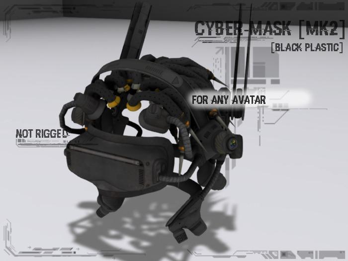 <Nerox> Cyber-mask [mk2][black plastic]