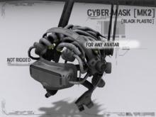 <Nerox> Cyber-mask [mk2][white]