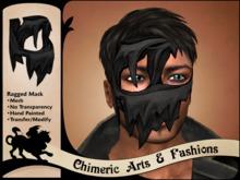 Ragged Mask (Black)