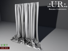 .:UR:. Extra Wide Curtain (full perm mesh)