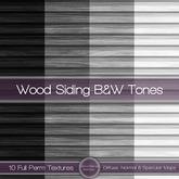 {L} Wood Siding-B&W Tones