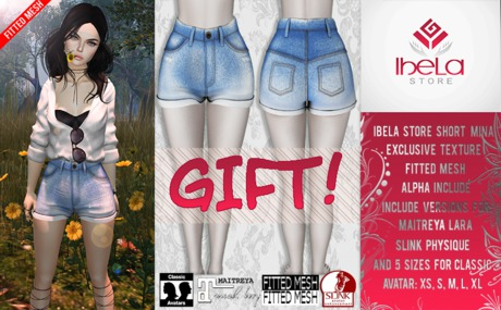 Ibela Store GIFT! - Short Mina Fitted