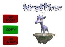 Krafties stone for Giruffkin