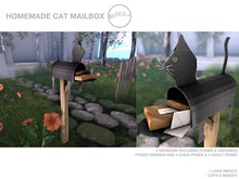 .birch. homemade cat mailbox - REZ ME