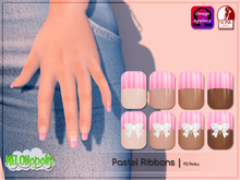 [M] Nail Polish // Pastel Ribbon P3