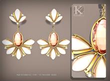 (Kunglers) Sampaguita earrings - Rose