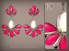 (Kunglers) Sampaguita earrings - Pink
