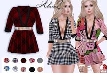 AdoreZ - Cristina Dress HUD Colors