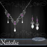 :::Krystal::: Natalie - Jewelry Set - Platinum - Constellation