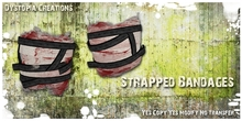 .dystopia. strapped bandages