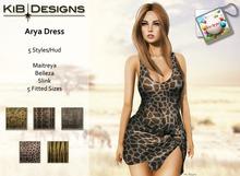 KiB Designs - Arya Dress - Print FATPACK
