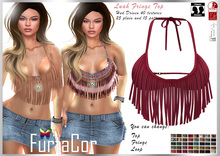 FurtaCor*Luah Fringe Top