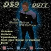Trek Designs - DS9 Duty Male Marine Uniform