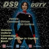 Trek Designs - DS9 Duty Female Command Uniform