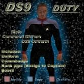 Trek Designs - DS9 Duty Male Command Uniform