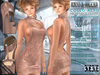 Bella Moda: Collo Alto Blush High Neck Dress & Shoes Outfit - Fitted for Maitreya/Physique/Hourglass/Classic+Std - FULL