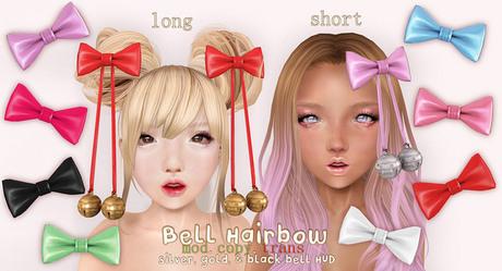 .tsg. Bell Hairbows
