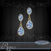 :::Krystal::: Regency - Earrings - Gold - Arctic Prism