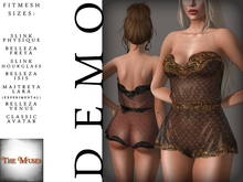 The Muses . Lacey . Romper . DEMO -  Fitmesh - Belleza, Slink, Maitreya, Classic Sizes.