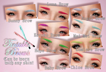 .tsg. Tintable Brows Fatpack