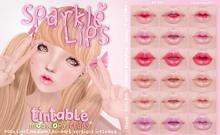 .tsg. Sparkle Lips *FATPACK*