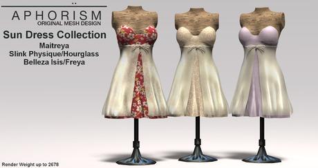 !APHORISM! Sun Dress - Fatpack